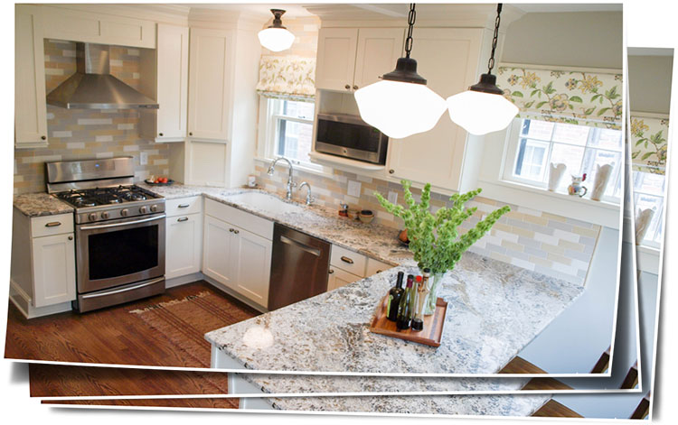 Bright And Cheerful Cleveland Heights Kitchen Remodel Idea