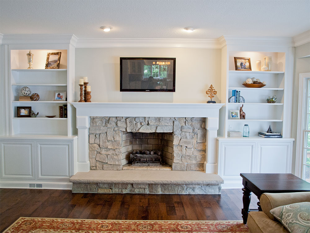 Solon Fireplace Remodeling Project The Beard Group