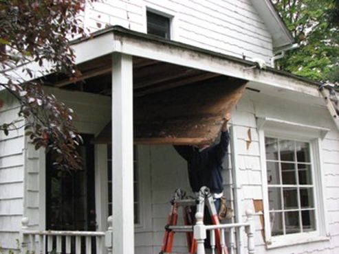 Exterior Carpentry By The Reliable Contractors At The