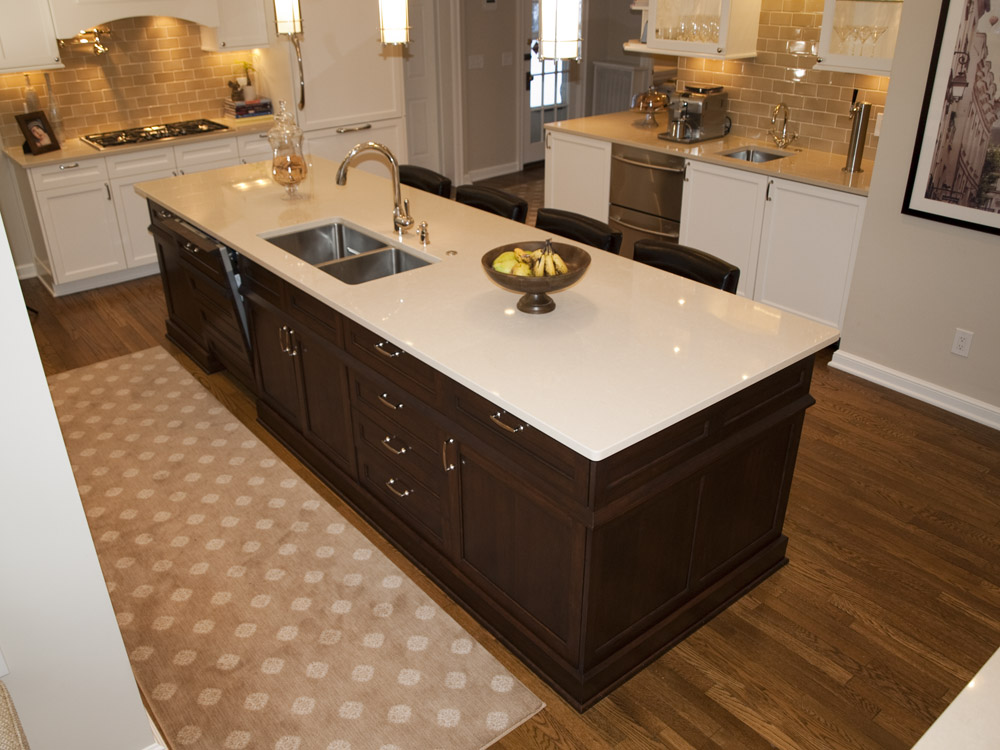 Timeless shaker heights kitchen remodel by the beard group for Complete kitchen remodel price