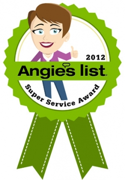 Super Service Award Winner 2012