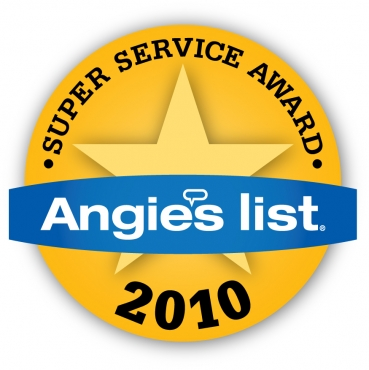 Super Service Award Winner 2010