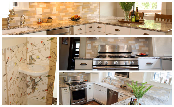 Superior Cheerful And Bright Cleveland Heights Kitchen Remodel